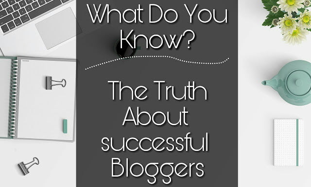 Truth about Successful Bloggers New and Struggling Bloggers Fail to Realize 1