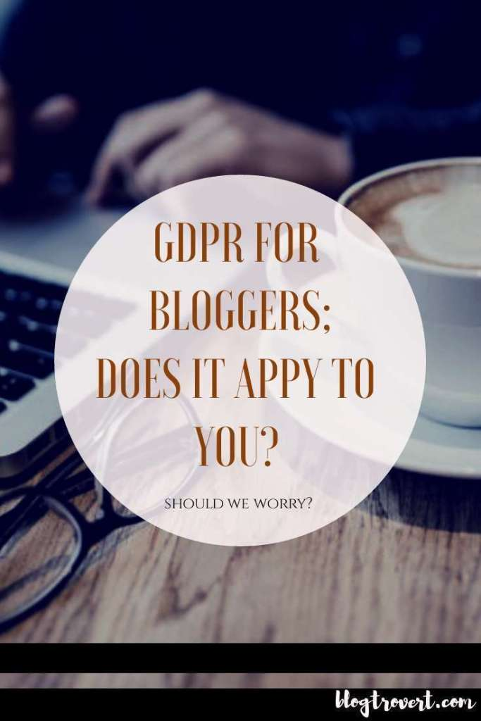 GDPR For Bloggers: Does it Apply To Nigerians?