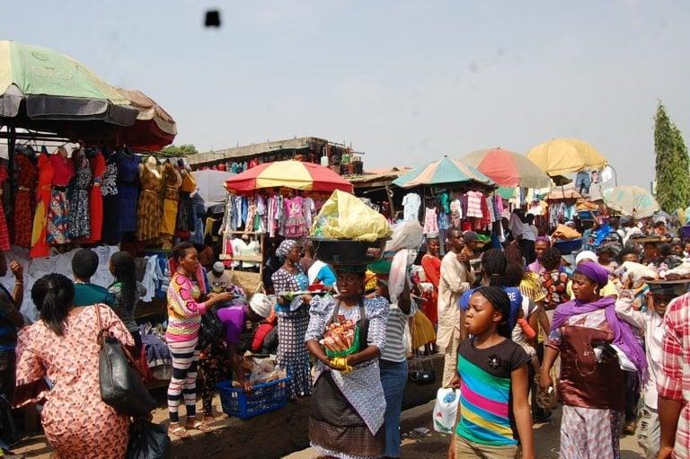 Okirika market