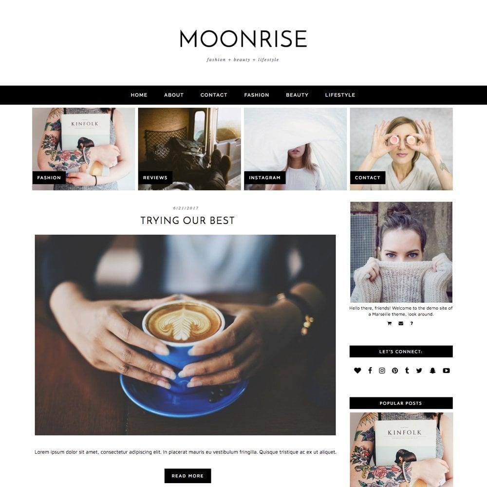 10 Gorgeous Feminine WordPress Themes For Lifestyle Blogs 2
