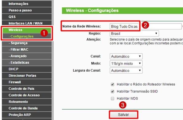 como mudar a senha do wifi da net