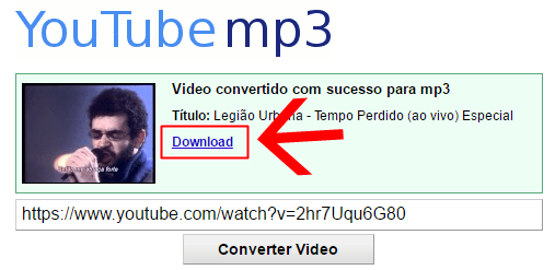 Converter YouTube MP3
