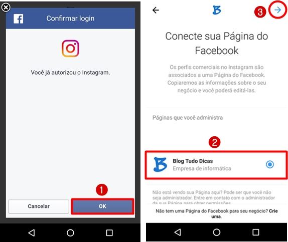 Como mudar Instagram para perfil comercial