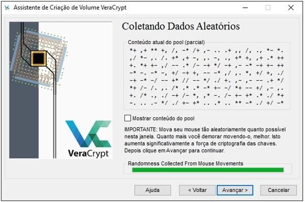 Colocar senha pen drive criptografar