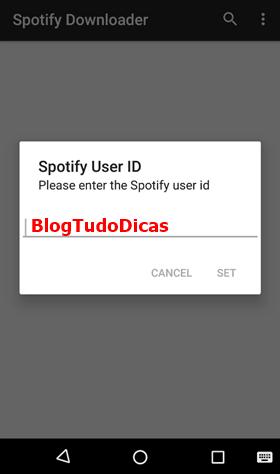 Baixar musicas Spotify celular Android