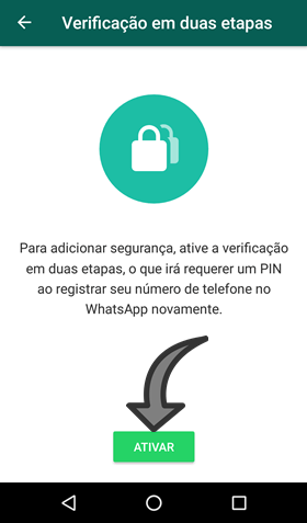 Verificacao em duas etapas WhatsApp para que serve