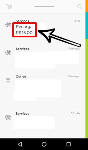 Como renomear uma compra no aplicativo Nubank