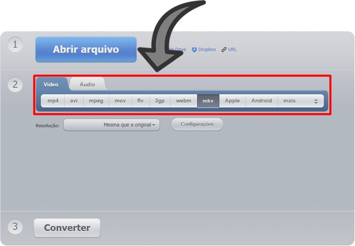Como converter videos online no Android
