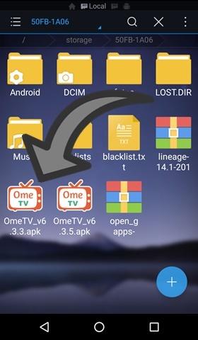 como desbloquear ometv android