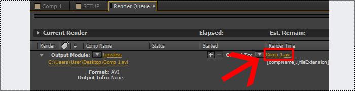 como exporar video no adobe after effects