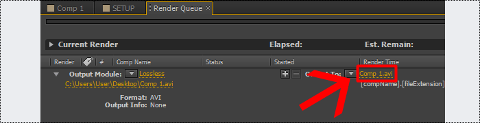 como exporar video no adobe after effects