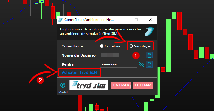 modal mais simulador day trade