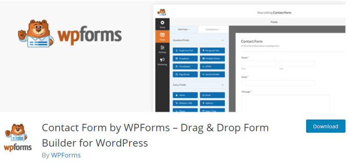 WPForms - Plugin WordPress