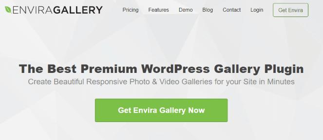 Plug-in Envira Gallery
