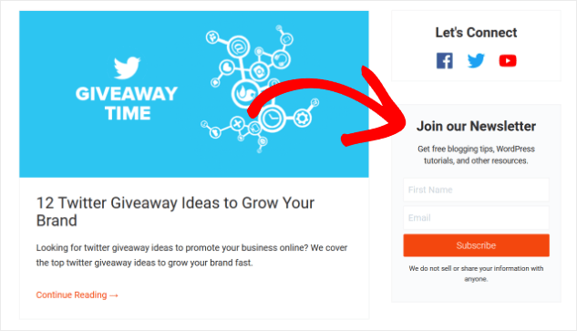 We get to the bottom of the bottom of your emails. 12 Email Newsletter Signup Form Examples That Work