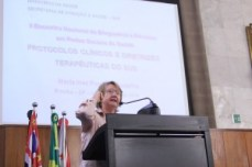 Dra. Maria Inez Pordeus Gadelha , diretora-substituta da SAS (Secretaria de Assistência à Saúde), do Ministério da Saúde. Foto: Alex Nunes
