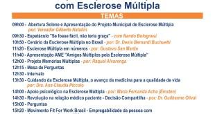 Programação 2º Encontro de Pacientes e Blogueiros de Esclerose Múltipla