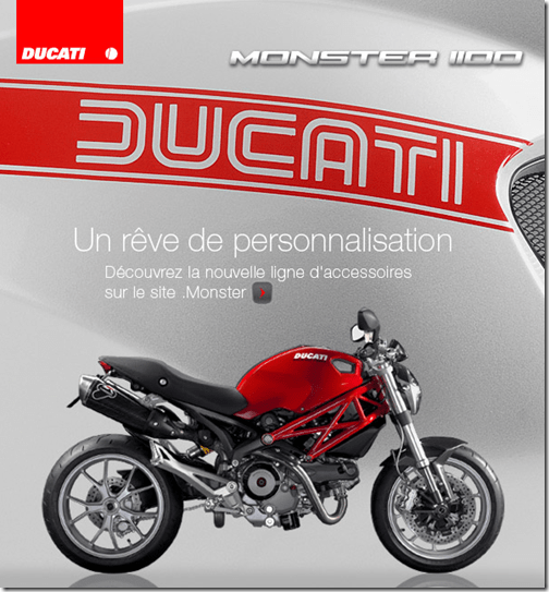 Site Ducati Monster 1100