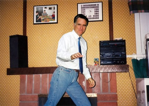 Mitt Romney In Mom Jeans Dancing Awkwardly