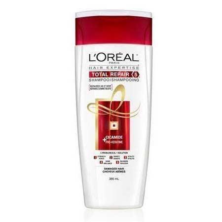 Merk Shampoo Untuk Rambut Bercabang - L'Oréal Paris Elvive Total Repair 5 Repairing