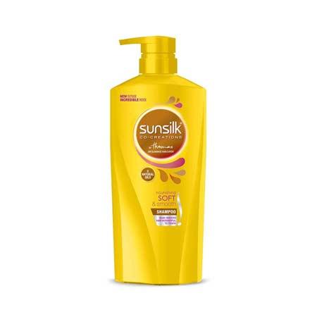 Merk Shampoo Untuk Rambut Bercabang - Sunsilk Nourishing Soft & Smooth Shampoo