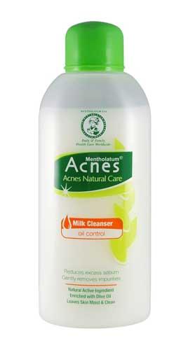 Merk Milk Cleanser Terbaik - Acnes Natural Care Milk Cleanser Oil Control