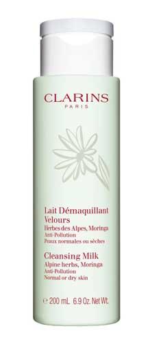 Merk Milk Cleanser Terbaik - Clarins Cleansing Milk with Alpine Herbs