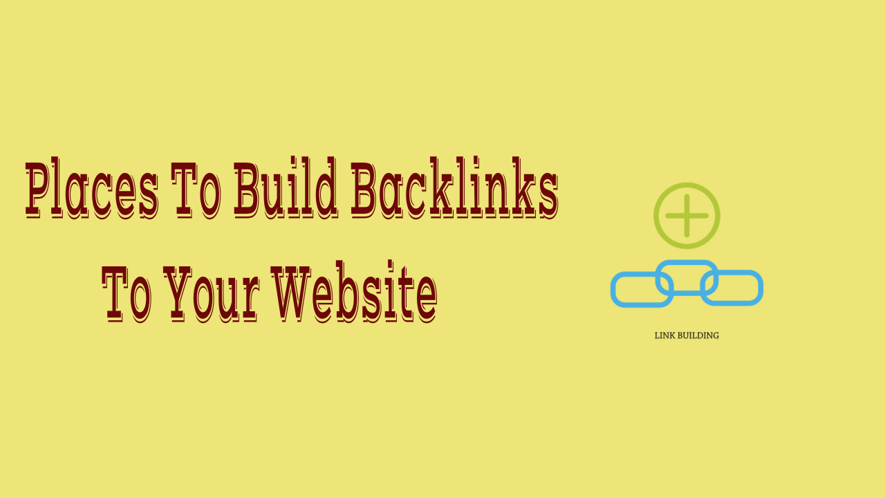 To Build BackLinks