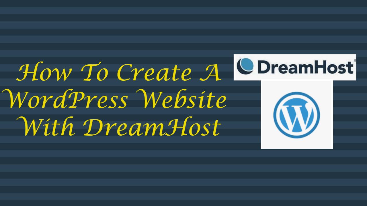 WordPress Website With DreamHost
