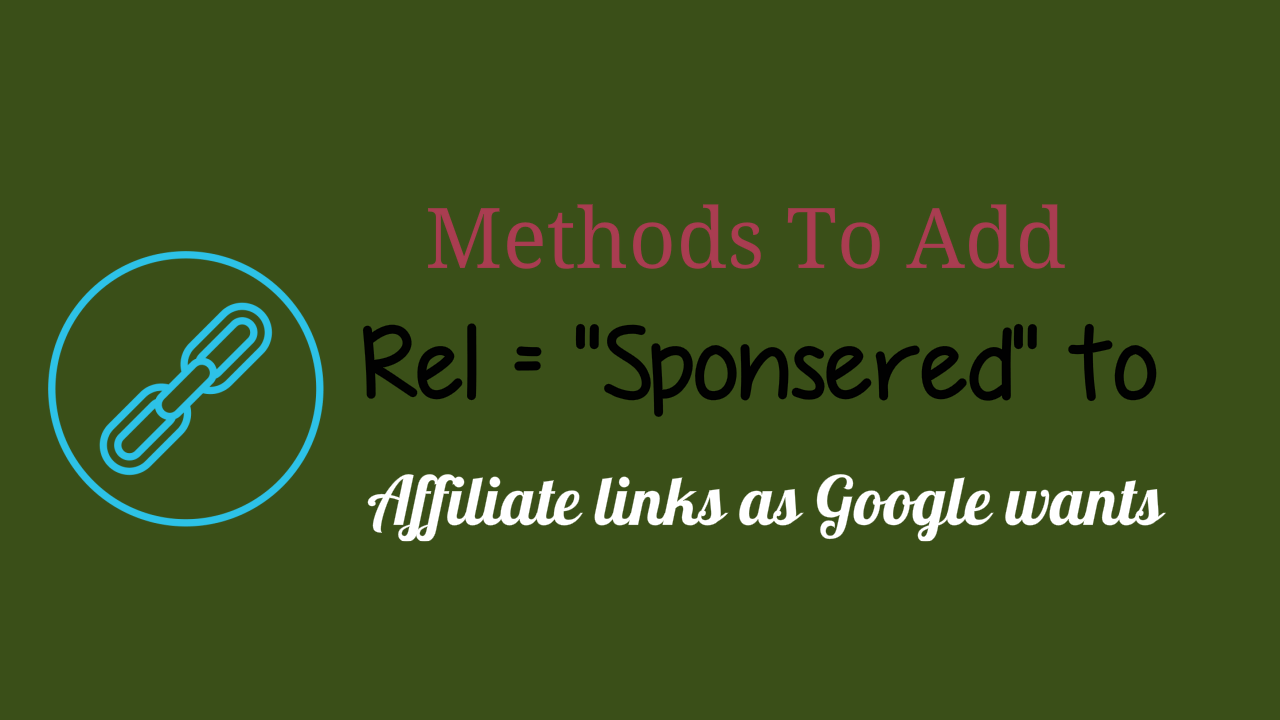 Add Affiliate Links