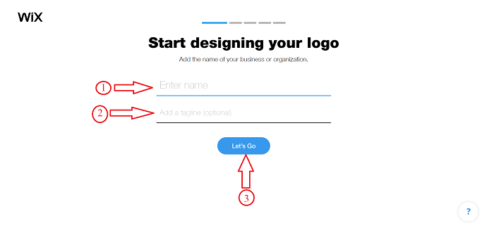 How to design a logo in Wix