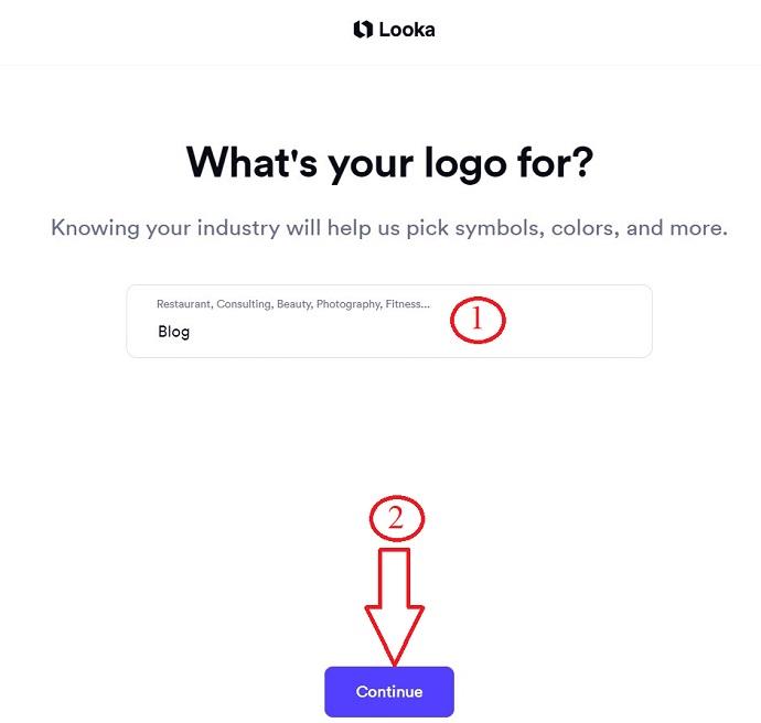 Looka Logo category