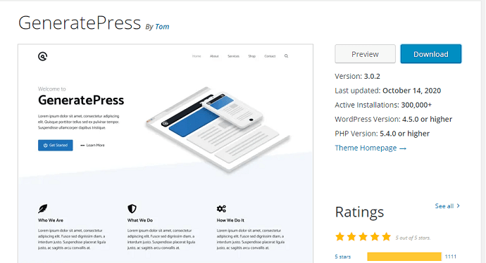 Method 1 Install GeneratePress WordPress Theme