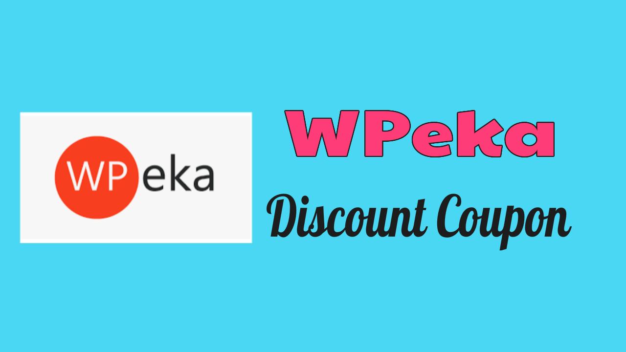 WPeka Discount Coupon
