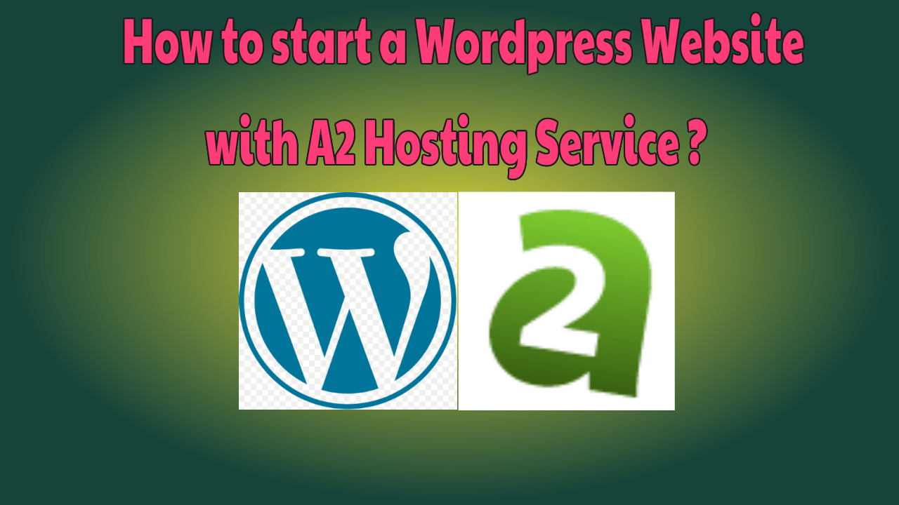 Wordpress Website with A2 hosting Service