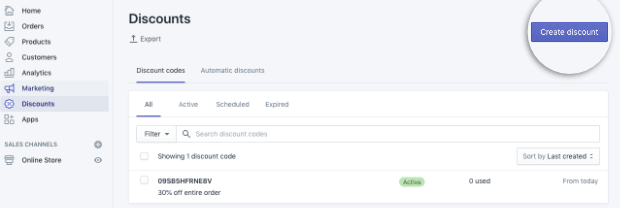 Shopify-Click-Create-discount