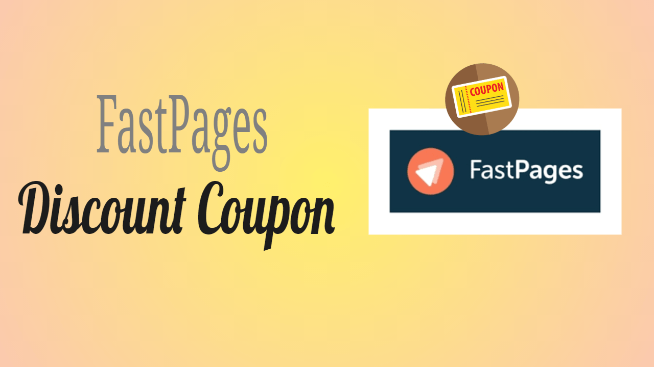FastPages Discount Coupon