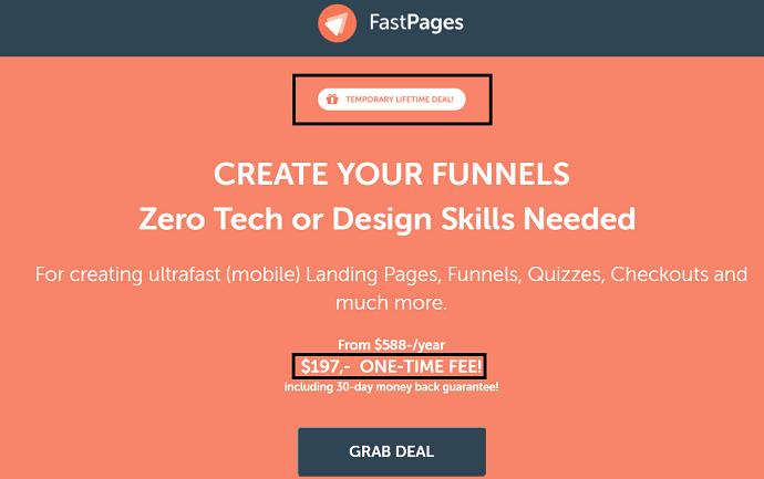 Step 1 Visit FastPages Website
