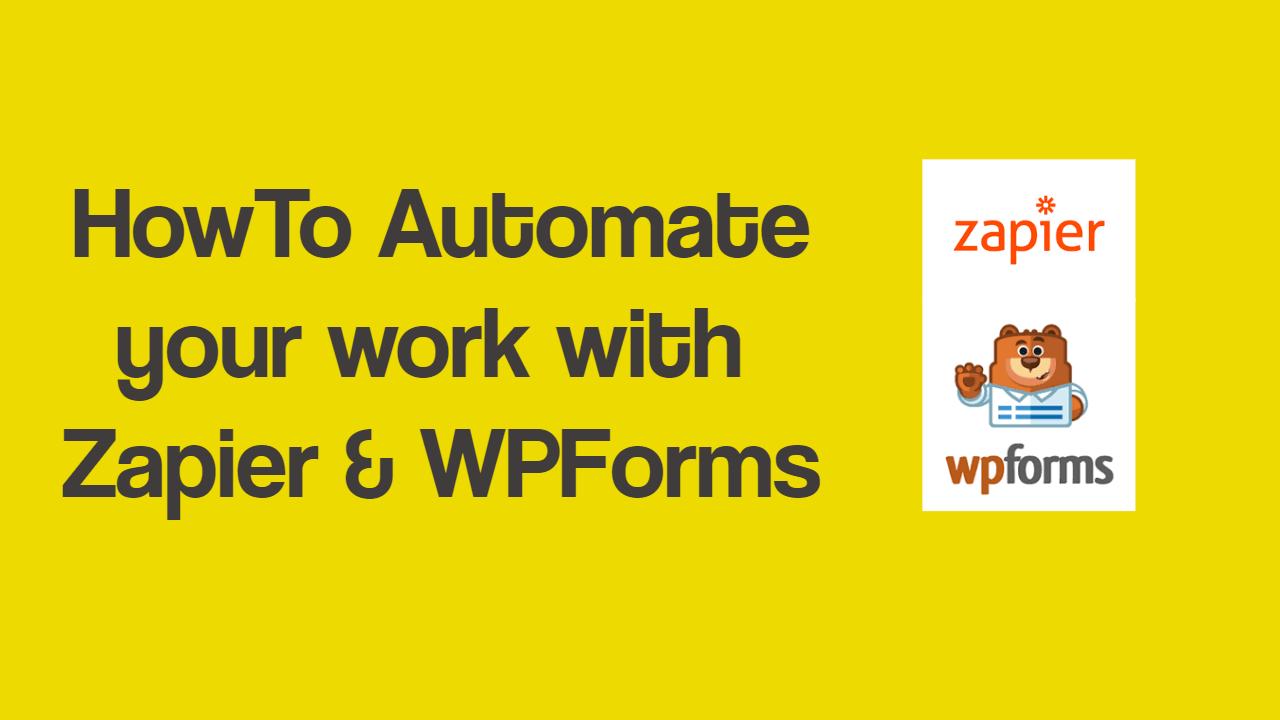 Zapier and WPForms