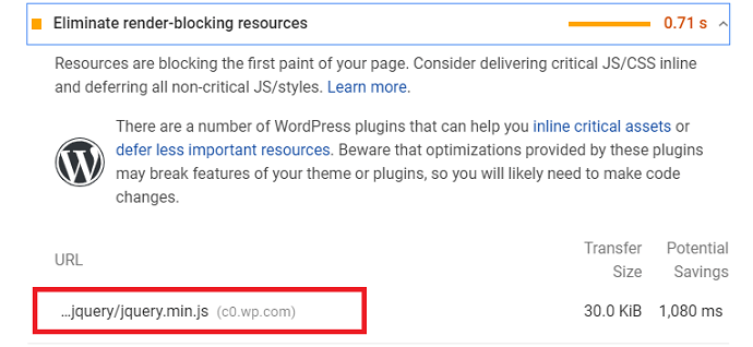 Render Blocking CSS and Javascripts LCP Error detected in Google Page Speed