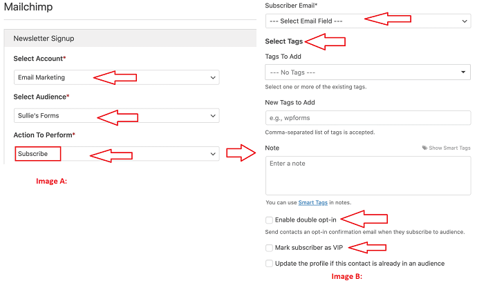 Step 9 Configure Signup Form Additional Connection Settings