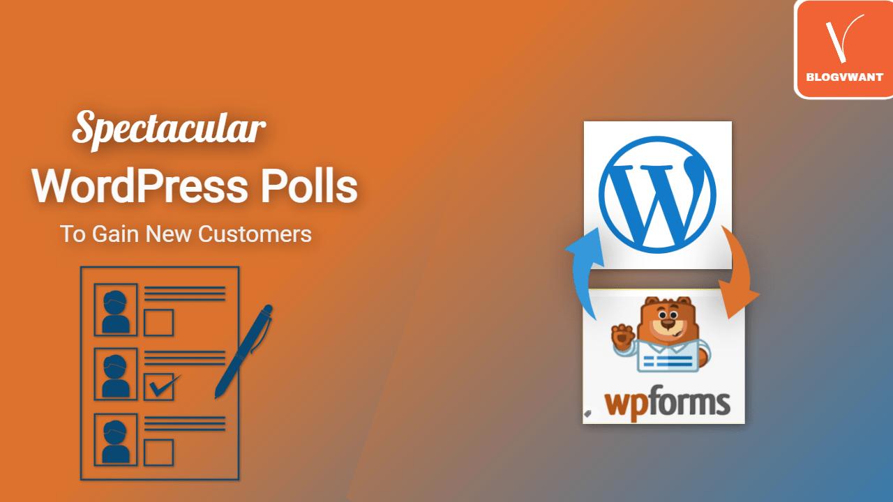 Spectacular WordPress Polls To Gain New Customers
