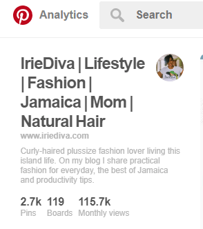 IrieDiva Pinterest Oct 22 2017