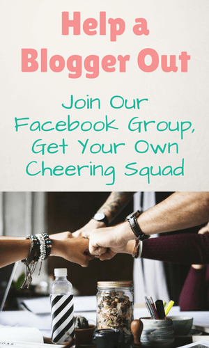Join our Facebook Group, network with other bloggers and grow your blog.