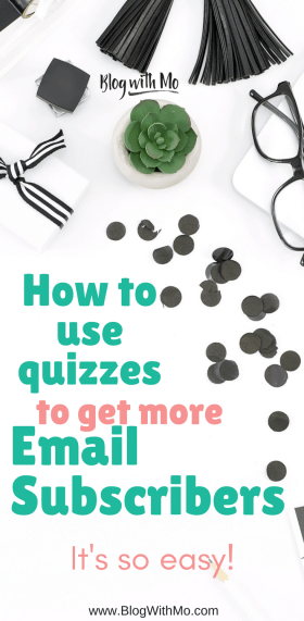 Email Marketing Inspiration: How to use a fun personality quiz to get more email subscribers.