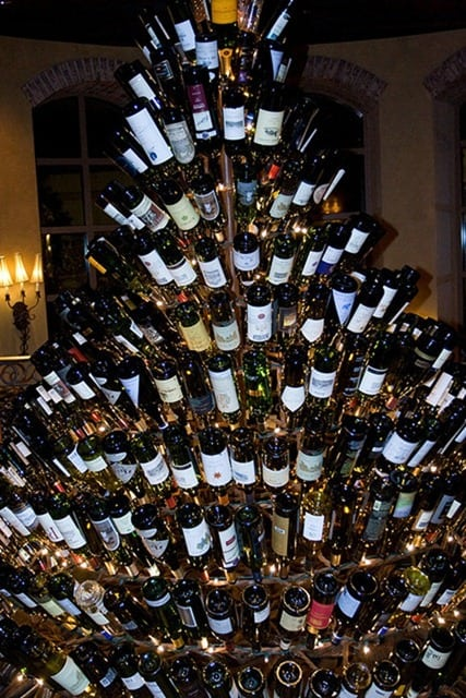 A Few Of The Best Wine Bottle Christmas Trees Blog Your