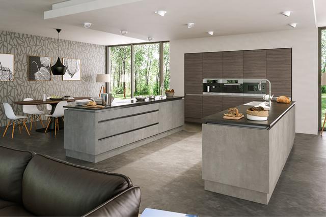 Aluminium UChannel Kitchens  Blok Designs Ltd