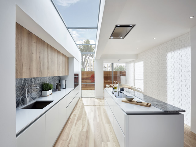 Aluminium UChannel Kitchens  Blok Designs Ltd