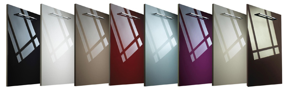 Acrylic Glass Effect Kitchens  Blok Designs Ltd