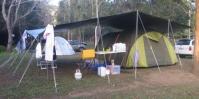 Tarp set ups  photos of great camp sites